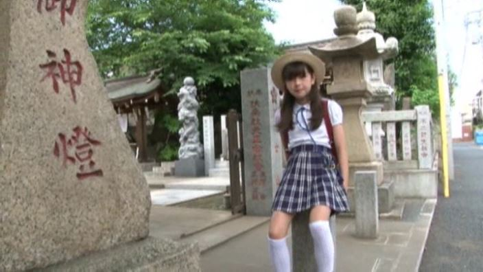 6年目のランドセル 「木村葉月」制服神社