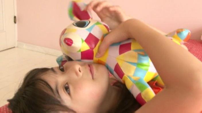 6年目のランドセル 「木村葉月」オレンジ部屋着人形