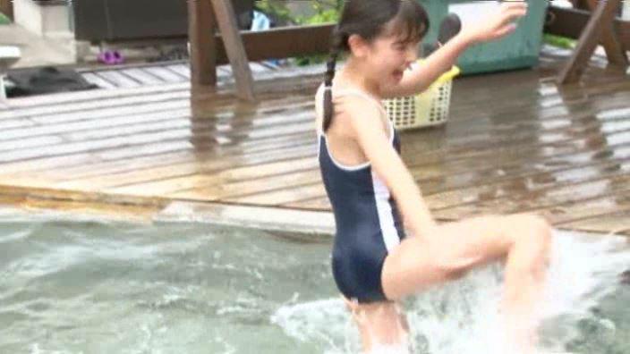 6年目のランドセル 「木村葉月」スクール水着暴れる