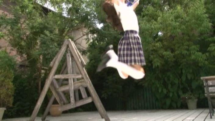 6年目のランドセル 「木村葉月」制服ジャンプ