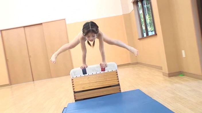 8歳の奇跡 「水谷彩音」柄チューブ跳び箱