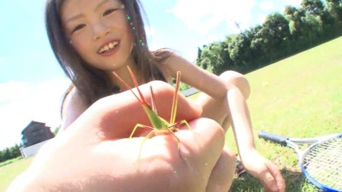 8歳の奇跡 「水谷彩音」柄ビキニバッタ