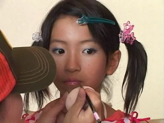 Jr. アート編「苺ゆい」メイク唇