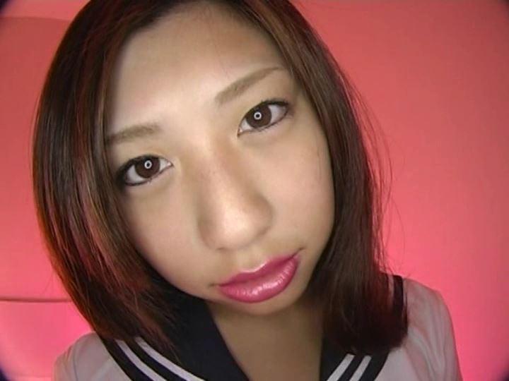 Pink teen 「赤西安未」制服顔アップ