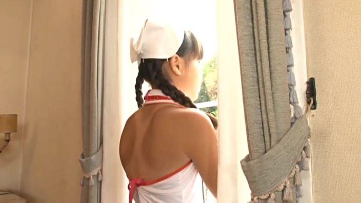 赤いランドセル 「村松奈々」ナース背面