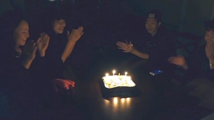 「美少女伝説 あさかの声、あやかの色 沖田彩花」ケーキろうそく