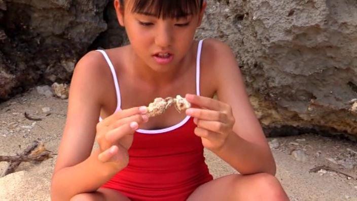 「美少女伝説 あさチュ 東亜咲花」赤水着ヤドカリ