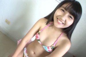 「ボクの太陽 Vol.23 ~全力美少女~ 東海林藍」柄ビキニ上半身