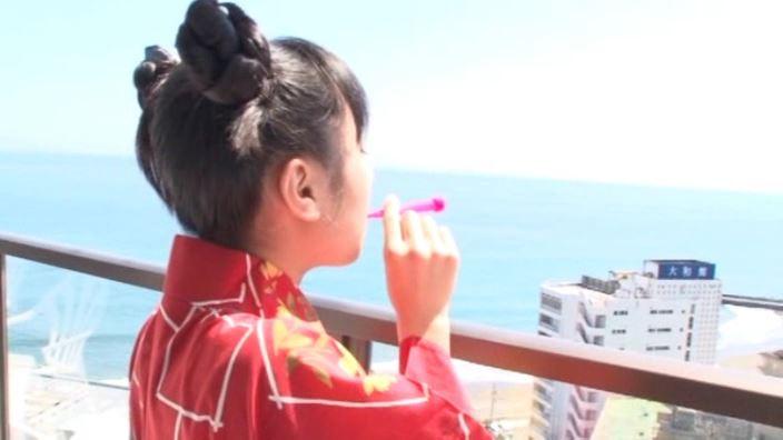 「ボクの太陽 Vol.7 新原里彩」浴衣シャボン玉