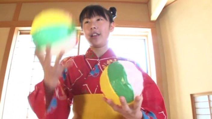 「ボクの太陽 Vol.7 新原里彩」浴衣紙風船