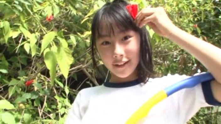 「ボクの太陽 Vol.7 新原里彩」ブルマ花飾り