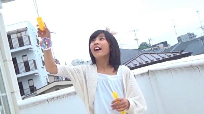 「チルチル Vol.44 ひなちゃん」白衣装シャボン玉
