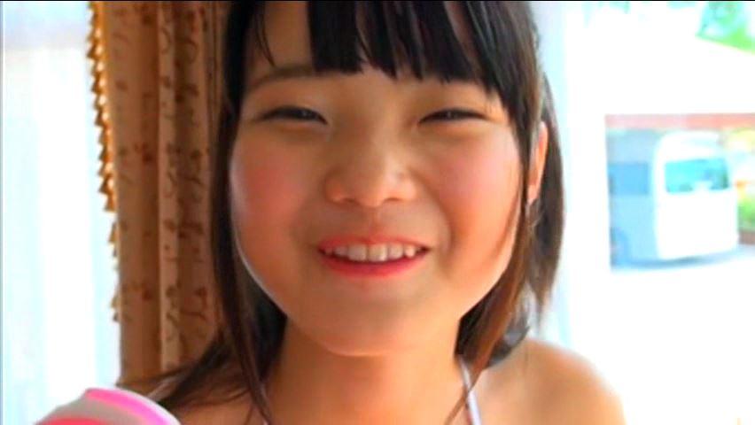 クラスのセンター!!!2「中沢ひめか」青ビキニアメ舐め笑顔