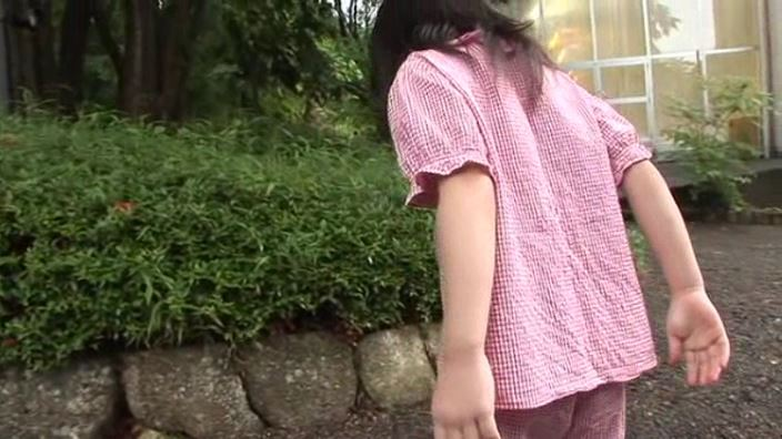 えりかちゃん おやつの時間「えりか」赤パジャマ背面