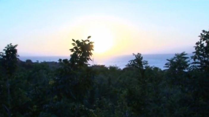 はいびすかす「水野舞」バリ夕景