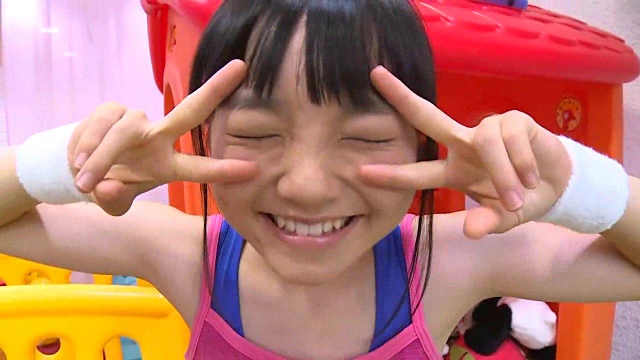 「はじめまして 学校なう! 見上瑠那」ピンクタンクWピース