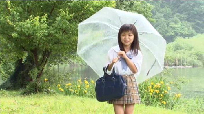 「はーとふる Vol.02 青山りりか」制服傘