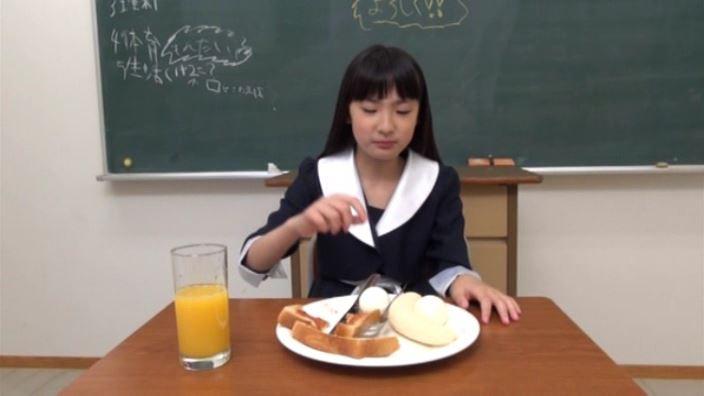 「ひまりのThousands God! 新倉ひまり」黒ワンピ食事