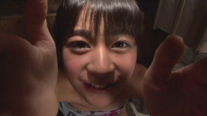 ハイッ!みさきです。「小沢岬」温泉頬に両手