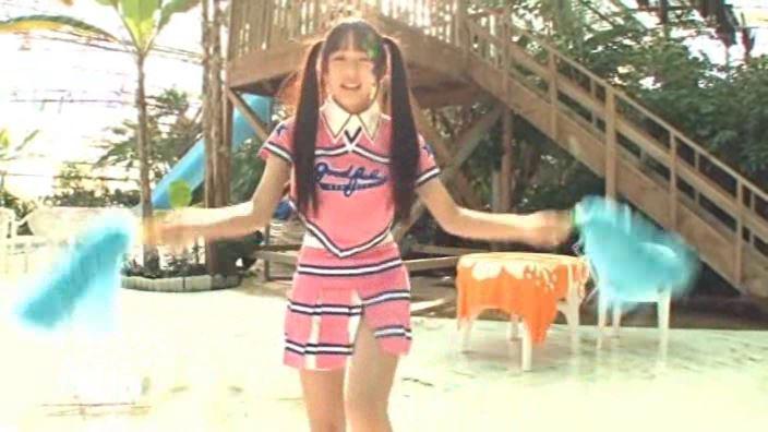 「放課後のキミ。 星野璃里」チアガール踊り