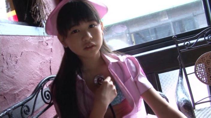いちごミルク「野村苺花」ナース聴診器胸当て