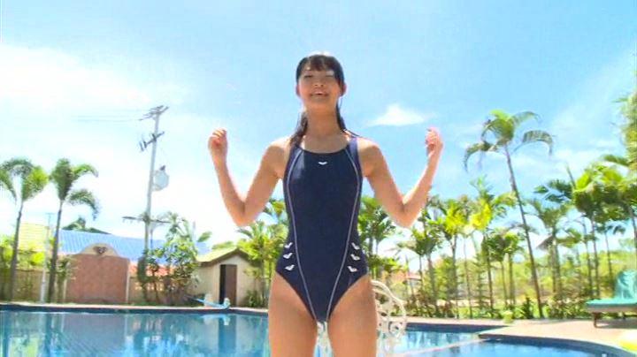 「J-chu- 亜沢光」競泳水着全身