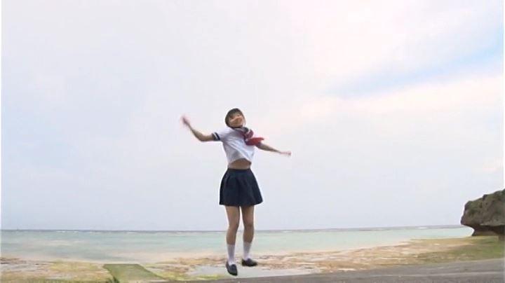 「純心美少女 春日彩香」制服遠景
