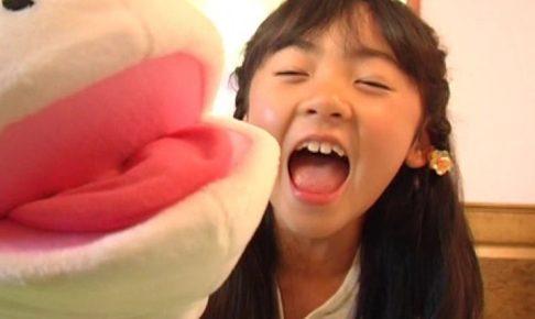 「金子美穂 9歳」人形口パク