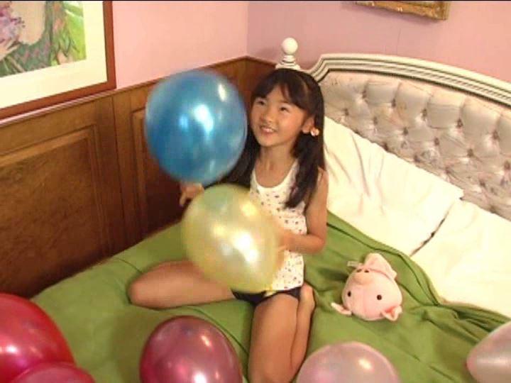 「金子美穂 9歳」風船