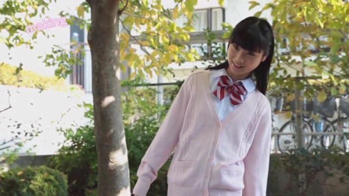 「中学生!恋の通知表 楢岡のあ」制服カーディガン