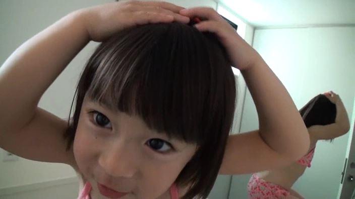 「Little Princess Vol.11 のどか」赤ビキニ顔アップ