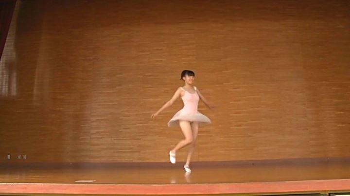 実り姫BonBon「二葉姫奈」レオタード舞台上