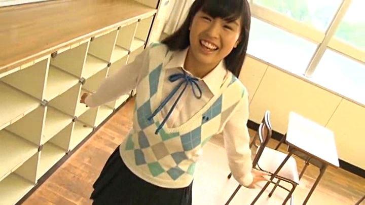 実り姫BonBon「二葉姫奈」制服全身笑顔