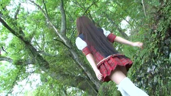 萌え萌え「水城サラ」制服背面