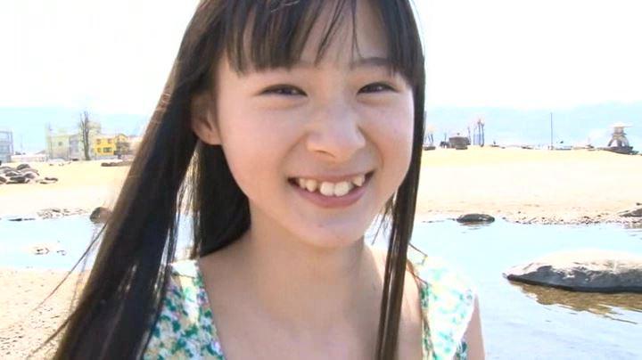まい☆ウェイ 「森下真依」緑ワンピース顔アップ