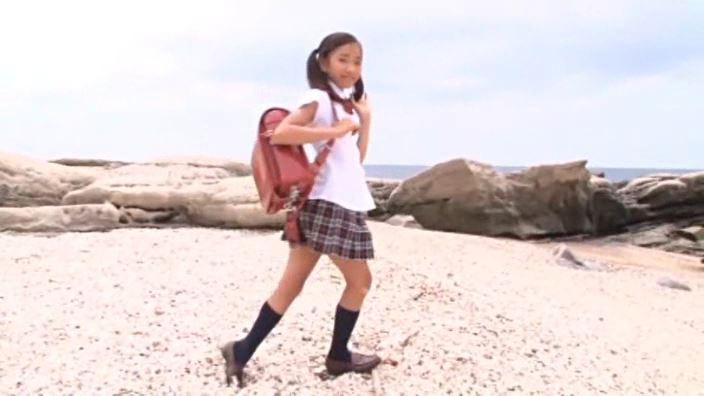 夏色のお嬢さん「蒼井玲奈」制服全身