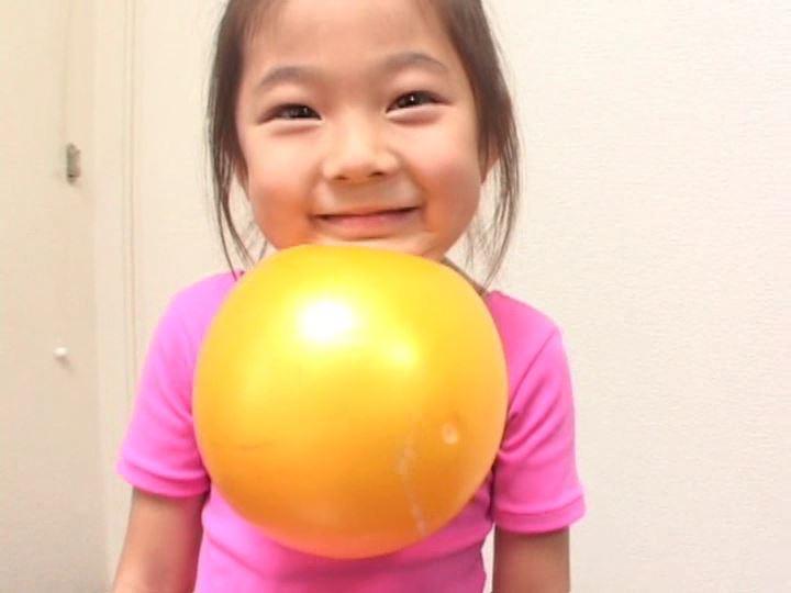 「ねねちゃん 6歳 寧々(ねね)」レオタードボール