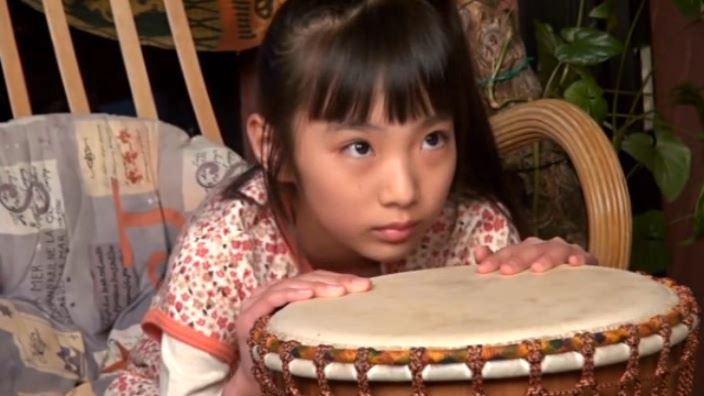 """""""Noすみれ,No Life""""とっておきの未公開秘蔵映像 「河合すみれ」太鼓上半身"""