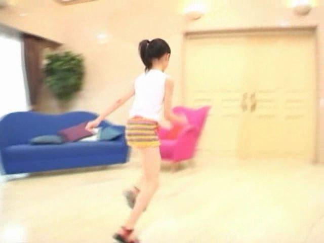 「岡崎瞳8歳 水の妖精 陸の天使」走り