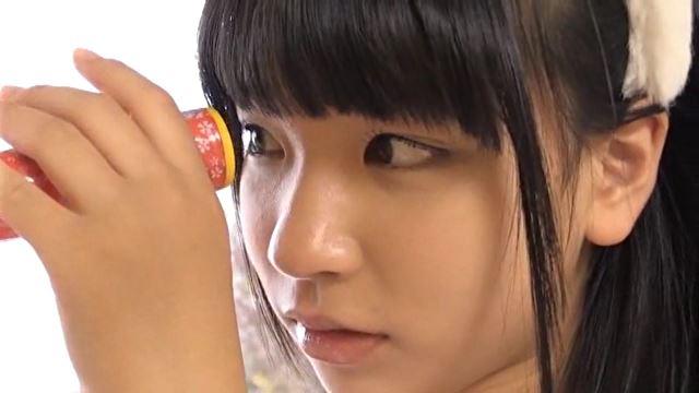 おっきくなーれ!「石野瑠見」ピンク柄ビキニ万華鏡