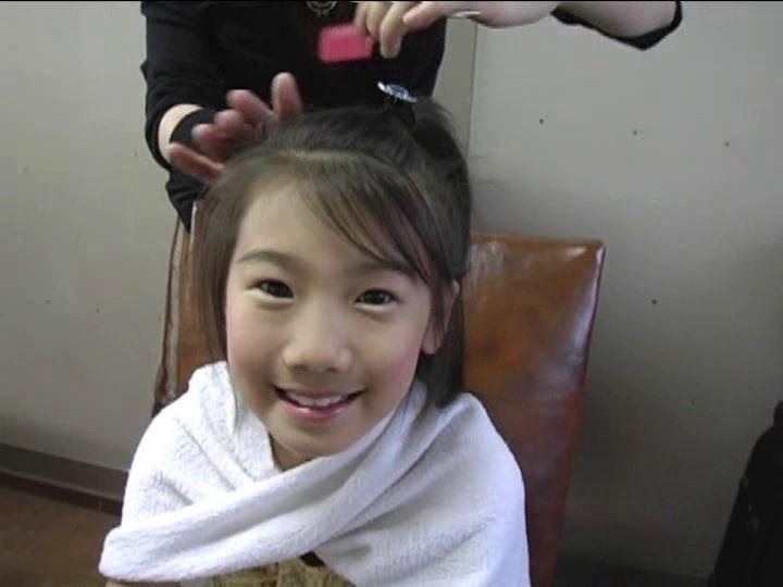 「小野寺沙羅 9歳」メイク直し