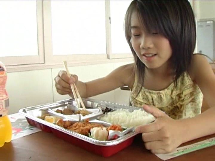 「小野寺沙羅 9歳」食事
