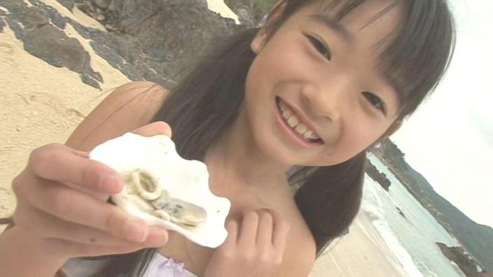 アイドルスイートプリキュア 星名はる 9歳小4「星名はる」白水着貝の皿