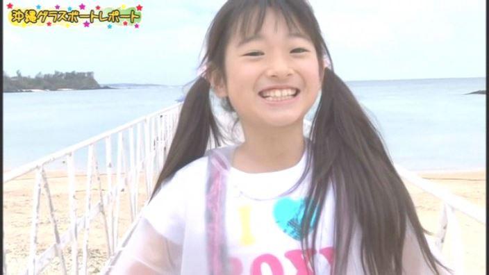 アイドルスイートプリキュア 星名はる 9歳小4「星名はる」グラスボート感想上半身