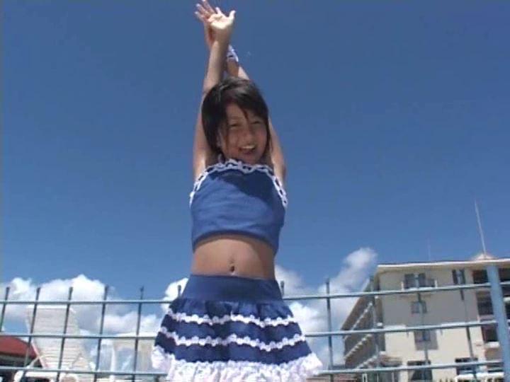 ピュアぐらびあ・あ~と「桃瀬なつみ」青チアリーダー体操