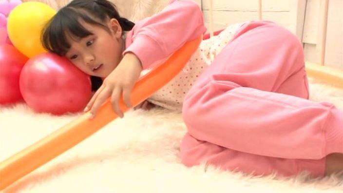「ピュアローズ Vol.05 えりか」ピンク部屋着寝転び風船