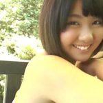 「旬感娘 早瀬琉愛」ピンク黄ビキニ上半身笑顔