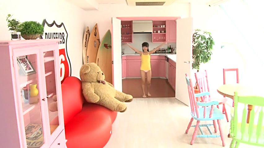 すだち色の夏 「須田理夏子」ピンクビキニ全身入室