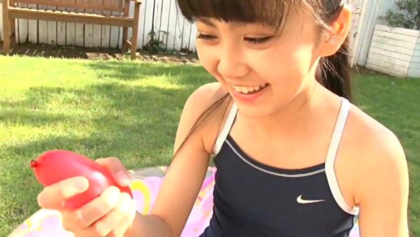 すだち色の夏 「須田理夏子」スクール水着水風船