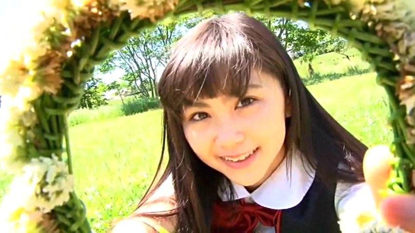すだち色の夏 「須田理夏子」制服花冠上半身